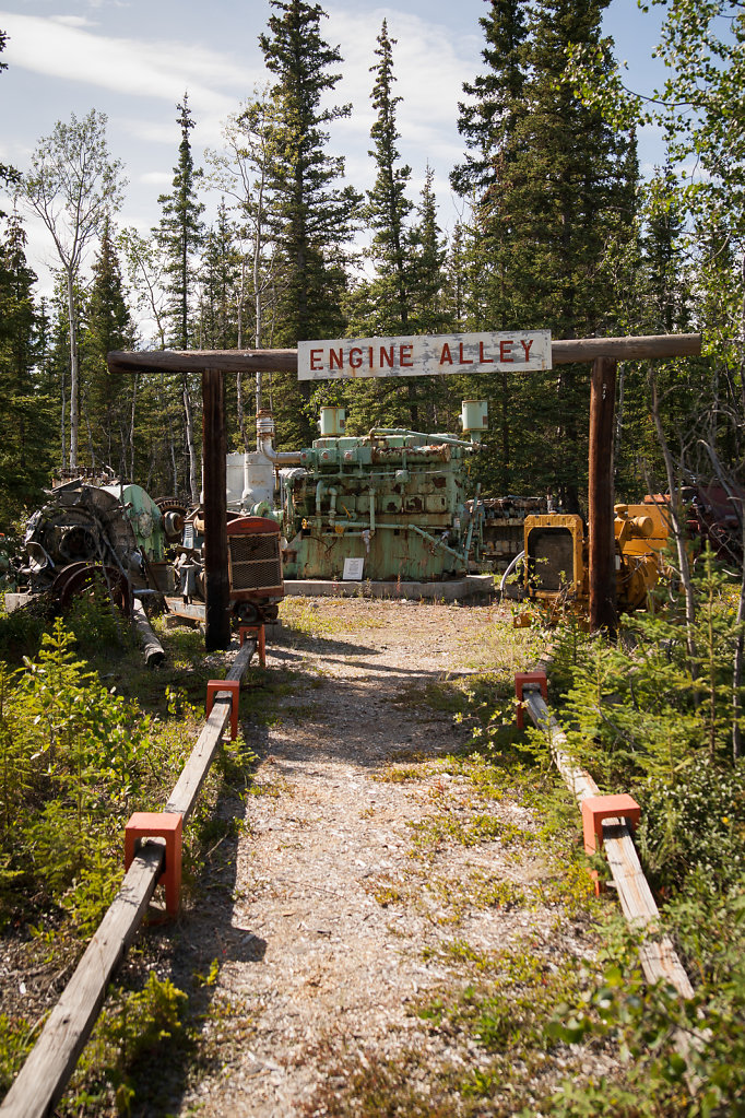 Engine Alley at Mukluk Land