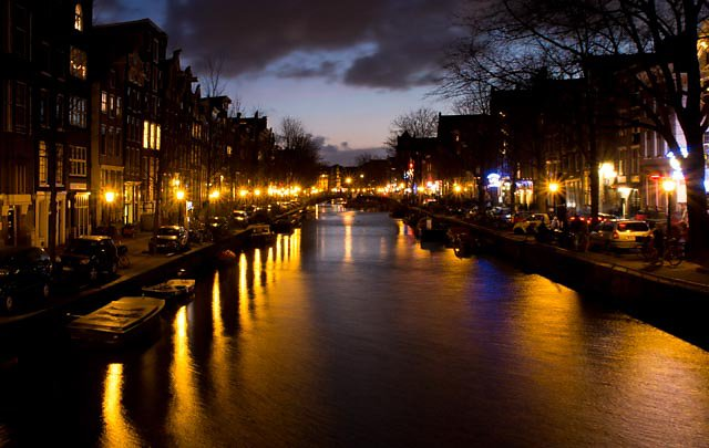 Amsterdams Grachten by Night