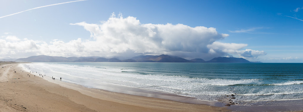 Panoramic View of Inch Beach