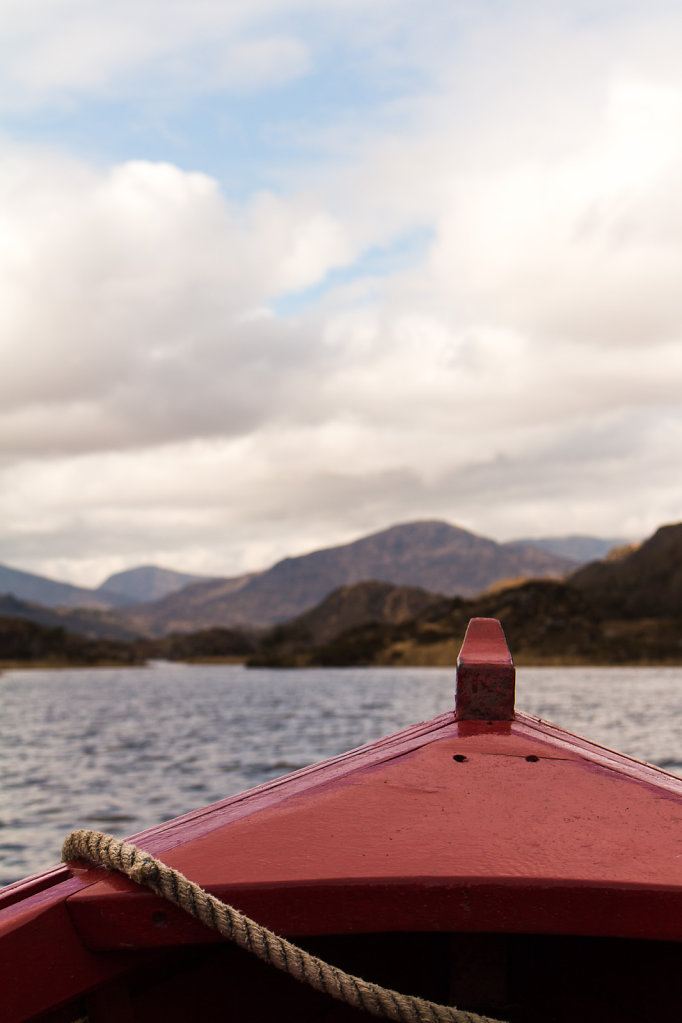 Boating the Killarney Lakes