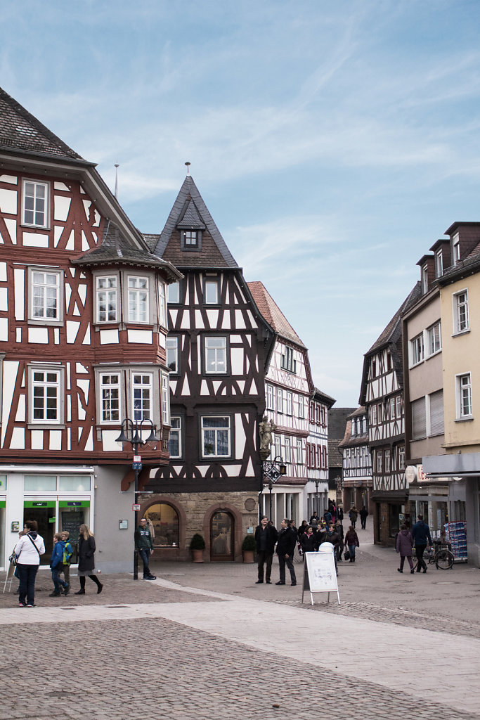 Bensheim Town Center