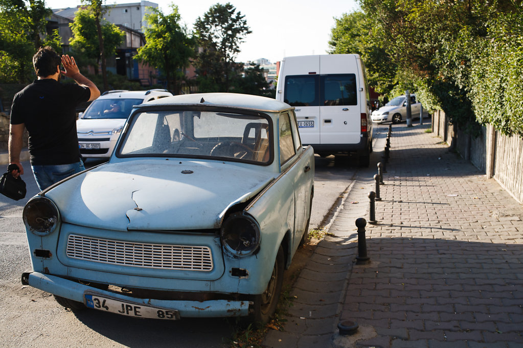 Old car in Istanbul