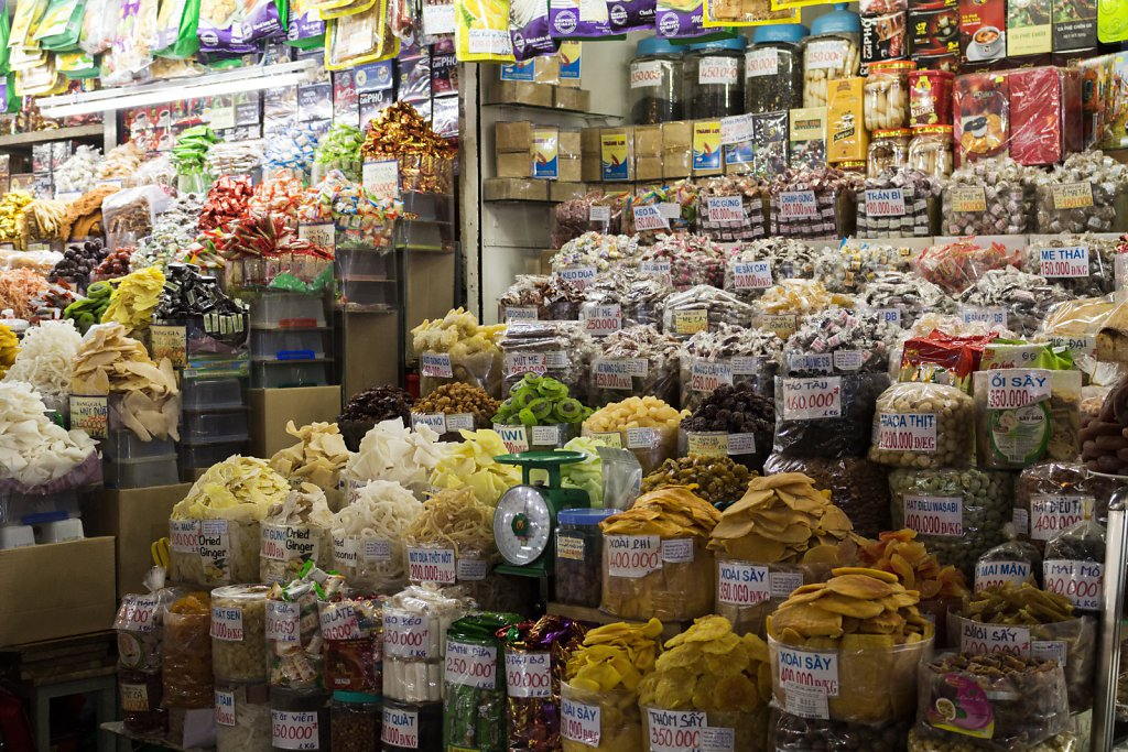 Dried Goods at Ben Than Market